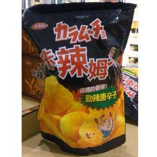 costco 咔辣姆久 勁辣唐辛子口味洋芋片 500G/1包  #97178
