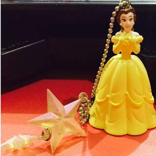 Belle - Beaty and the Beast Keychain