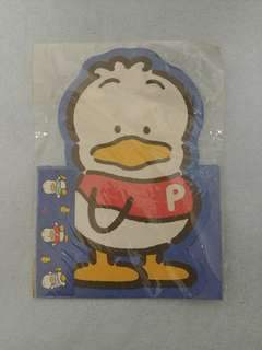🎀絕版1994🎀AhiruNoPekkle信封信紙套裝(made in Korea)