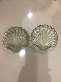 Shell butter plate
