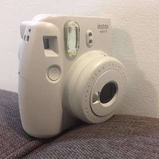 Original FUJIFILM instax mini 9(smoky white)+ instant film
