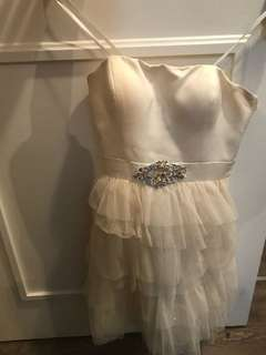 Grad dress size small (4)