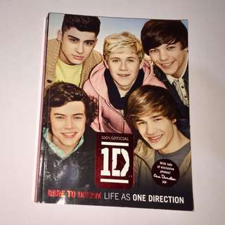 One Direction (Dare to Dream: Life as One Direction) Book