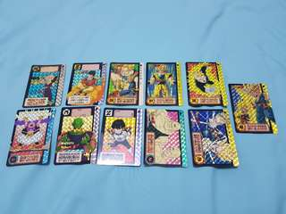 Dragonball special card +10 cards