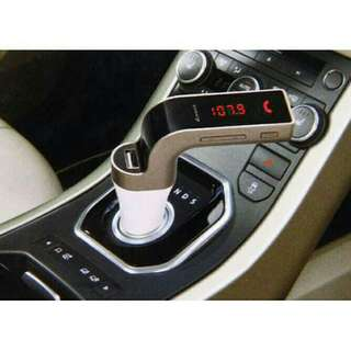 Charger mobil car fm transmitter buetooth