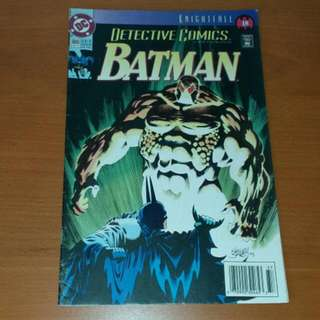 Vintage DC Comics, Detective Comics Featuring Batman Sept 1993