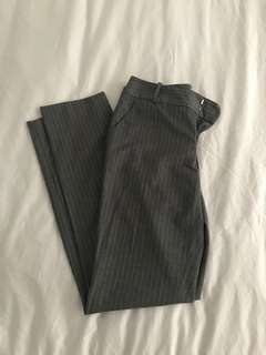 Calvin Klein grey office pants, size 2