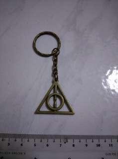 BN Bronze deathly hallows keychain free postage