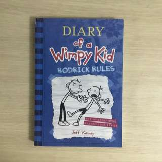 Diary of a Wimpy Kid: Rodrick Rules (#2) by Jeff Kinney