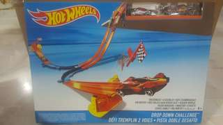 Hotwheels drop down challenge