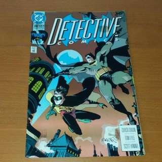 Vintage DC, Batman Detective Comics Aug 1992