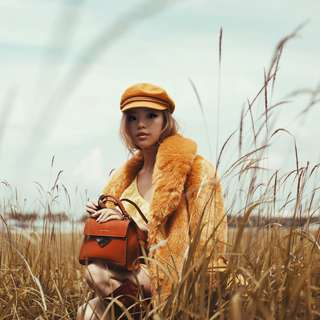 Brixton Hat in Marigold