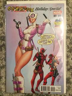 Gwenpool Holiday Special #1 (J. Scott Campbell cover)