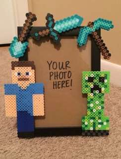 Hama Bead Design Photo Frame