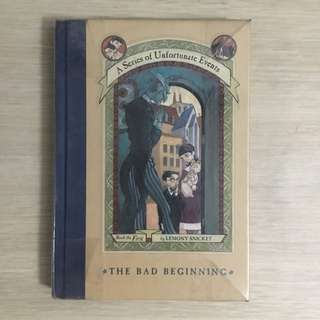 A Series of Unfortunate Events The Bad Beginning (#1) by Lemony Snicket