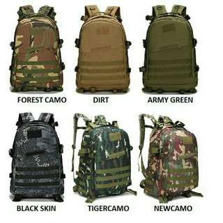 Backpack army