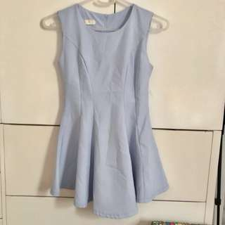 Powder blue dress small