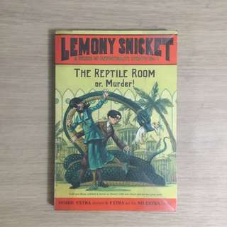 A Series of Unfortunate Events The Reptile Room (#2) by Lemony Snicket