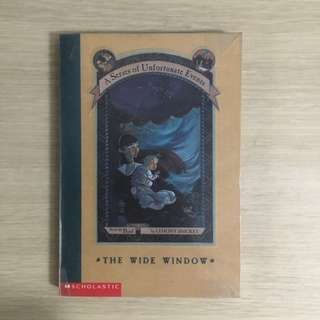 A Series of Unfortunate Events The Wide Window (#3) by Lemony Snicket