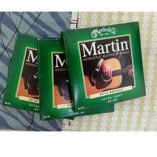 Martin吉他弦