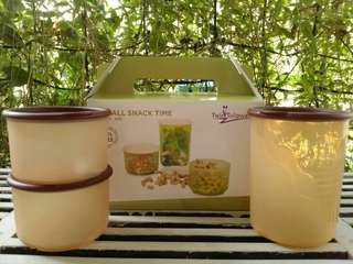 Canister/Toples/wadah makanan/Small Snack Time Set/storage jar