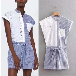 Inspired Zara Contrasting Jumpsuit