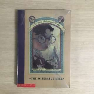 A Series of Unfortunate Events The Miserable Mill (#4) by Lemony Snicket