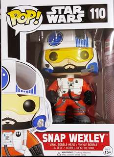 Funko Pop Star Wars Snap Wexley #110