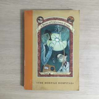 A Series of Unfortunate Events The Hostile Hospital (#8) by Lemony Snicket