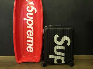 Supreme Rimowa Black 45L