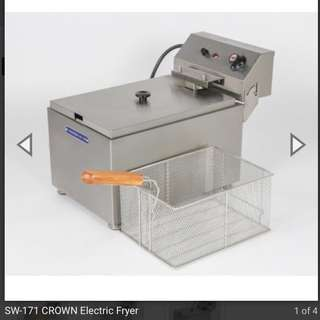Crown Commercial Deep Fryer for rent