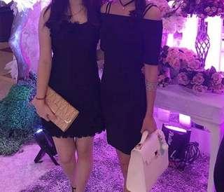 Tube couture black dress ( kiri )
