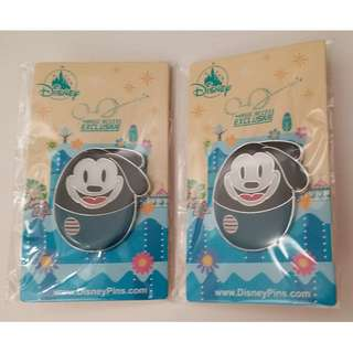 迪士尼花蛋徽章襟章 廸士尼 幸運兔奥斯華 米奇老鼠  Disney Pins Egg Pins Oswald the Lucky Rabbit Mickey Mouse