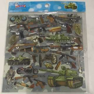 Stickers <Military Weapons>