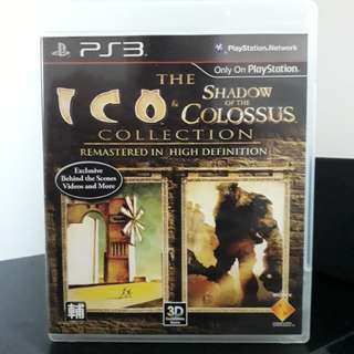 PS3 The ICO & The Shadow of Colossus