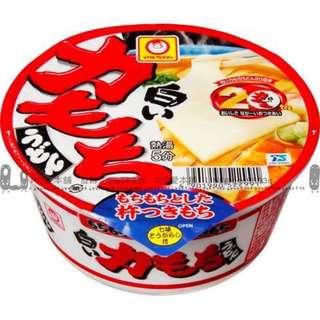 日本連線預購限時團白麻糬烏龍碗麵 109g