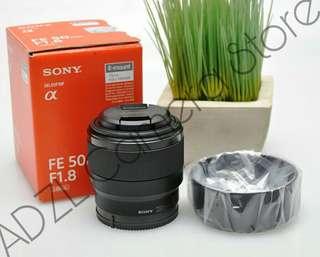 Lensa Sony FE 50mm F1.8 Second Mulus 100% fungsi normal tidak ada kendala