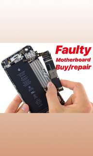Iphone motherboard faulty