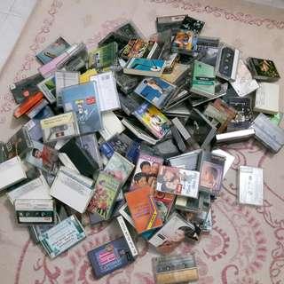 Kaset Tapes Cassette Vintage