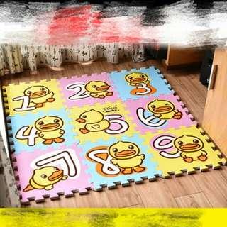 B duck bb遊戲地墊playmat