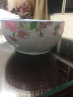 Chinese porcelain ceramic bowl 11cm microwave safe