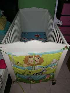 Ikea Baby Cot and Matress