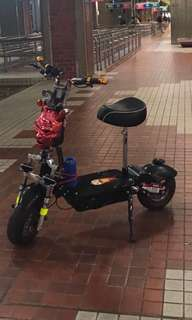 Evo scooter , the last time how hen look like??