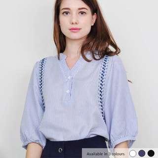 (PO) Cheyenna Embroidery Blouse