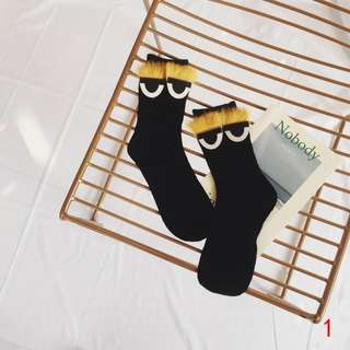 [PO] FURRY LAZY EYES SOCKS