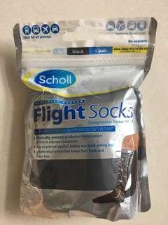 Brand new unopened Scholl Flight Compression Socks