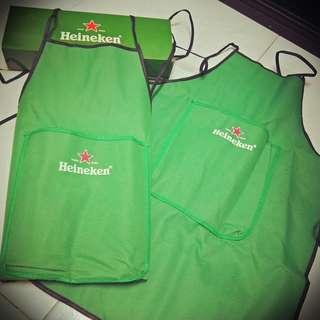 Heineken Aprons $6 Pair