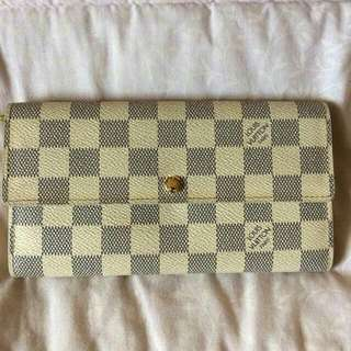 Louis Vuitton Wallet (Damier Azur)