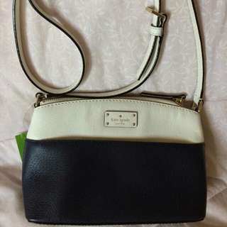 Kate Spade Blue & White Bag (Millie Grove Street)