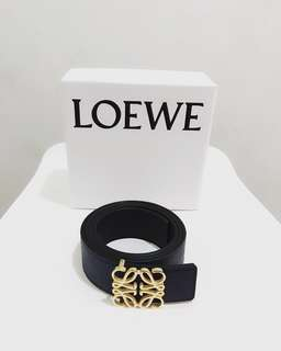 Authentic LOEWE Signature Buckle Belt, Restock!!